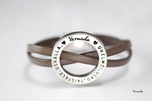 Vernada Design -nahkaranneke, UUTU